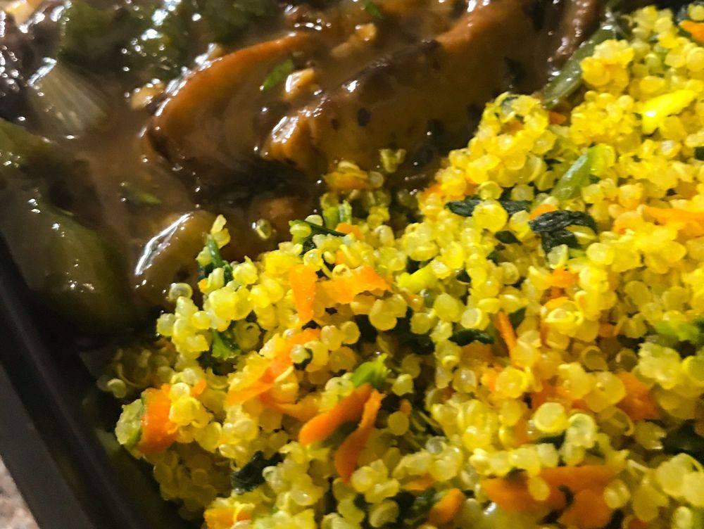 Veggie Fried Brown Rice