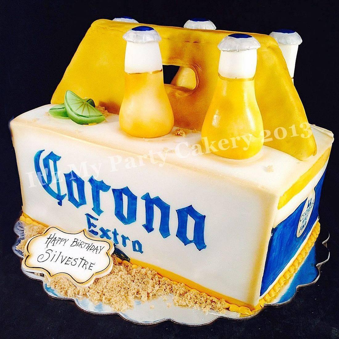 Corona 6 Pk Carved Dimensional Cake Milwaukee