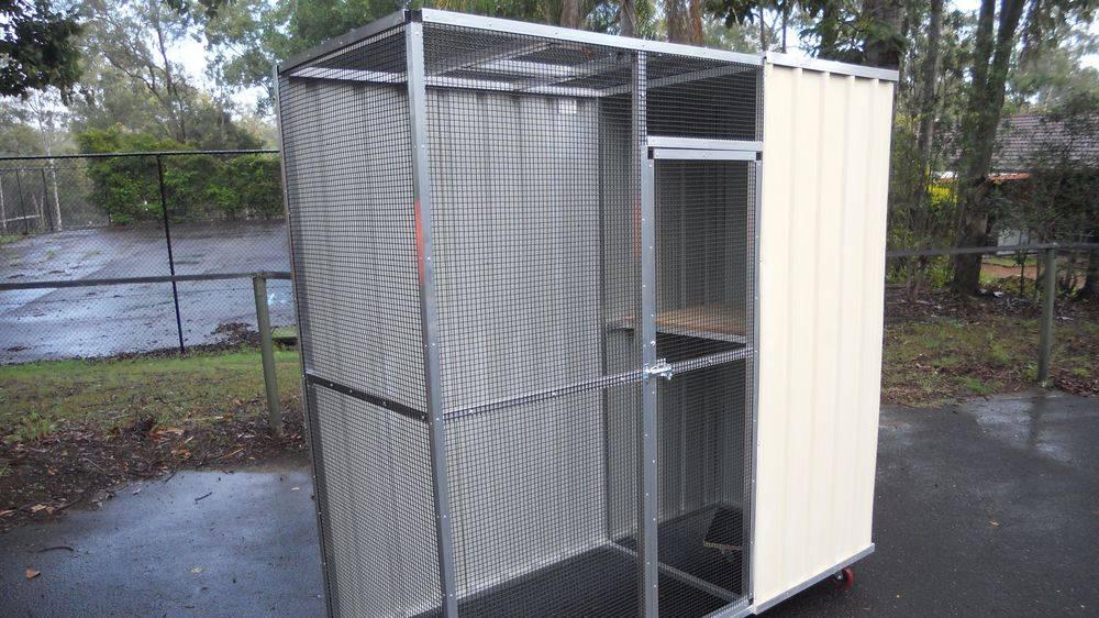 Cat enclosures-Trewin Aviaries,