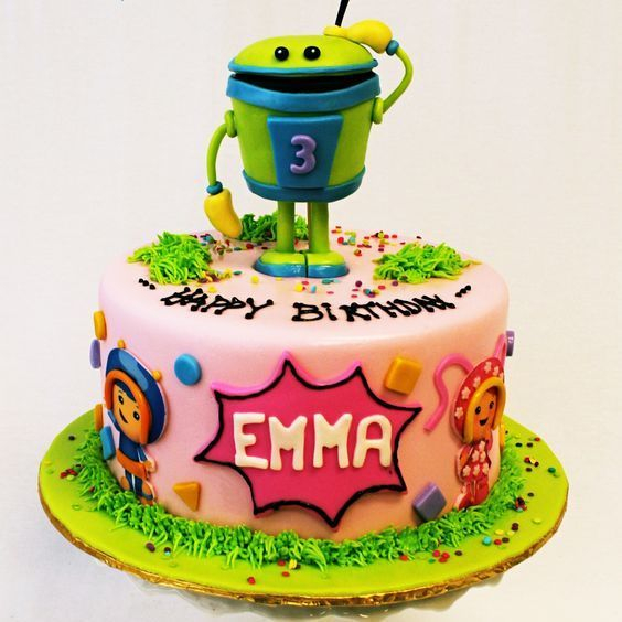 Custom Robot Character  Cake Milwaukee