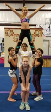 cheerleading, stunts, tumbling, competitive cheer