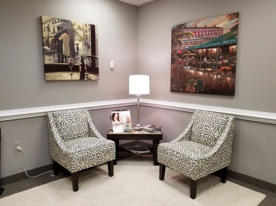 Loudoun Medical Aesthetics, Waiting Area, Sciton, Botox, Filler, Vampire Facelift, BBL