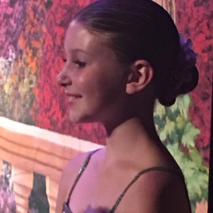 Sweet INB ballet dancer shines onstage.