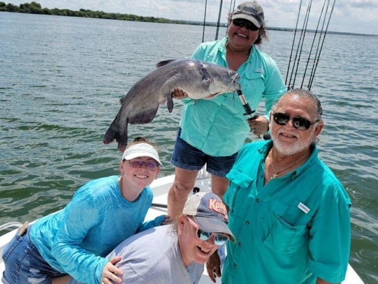San Antonio Fishing Calaveras Lake Blue Cats