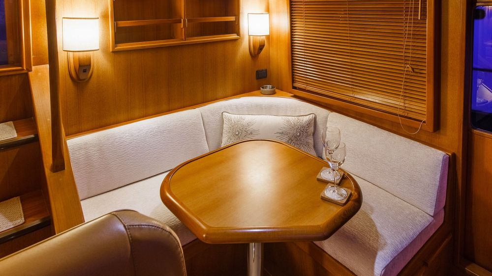 Newport Yacht Interiors, custom upholstery, yacht cushions