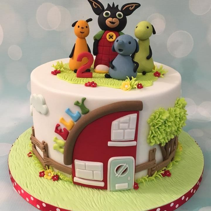 Bing Bunny Birthday Cake House Tree