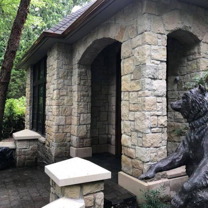 stone veneer, entryways, pavers,