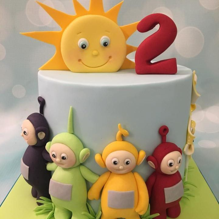Teletubby Teletubbies Telly Tubby Birthday Cake