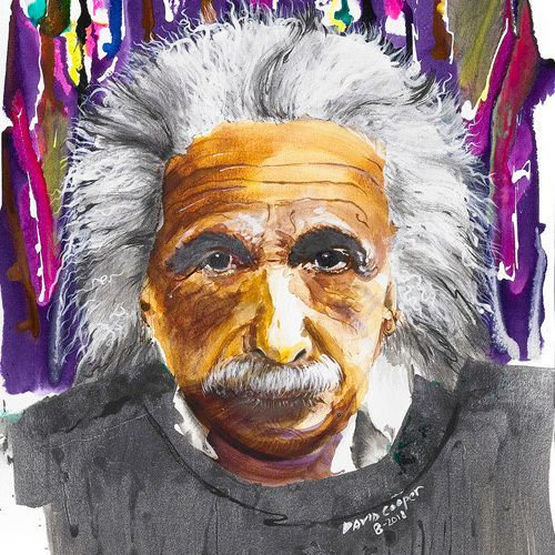 DCooper - Einstein - Giclee - 10x15 - $119