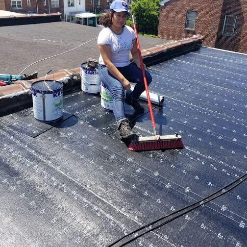Contractor Roofing Work