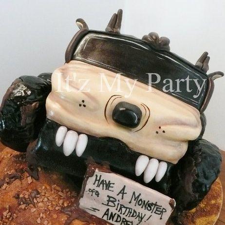 Taz Monster Truck Dimensional Cake Milwaukee