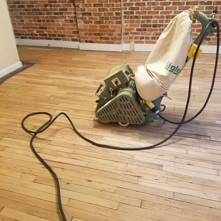 100 Year Old Refinished Floors