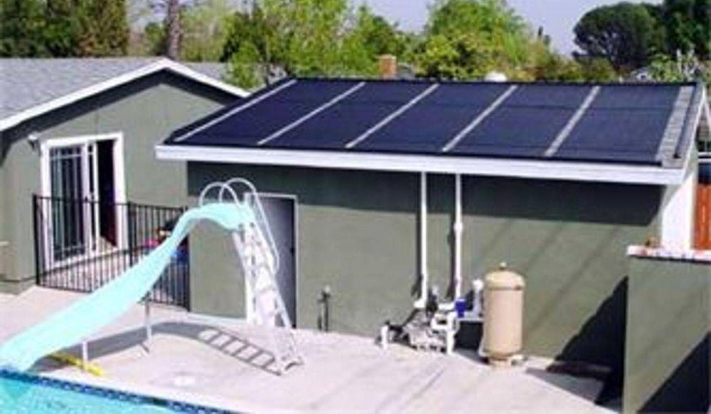 Sistema de instalacion del calentador de piscina solar Heliocol
