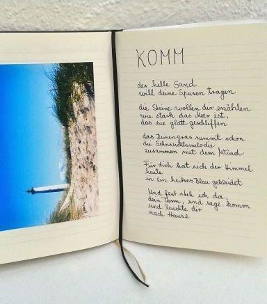 Marlis Metzdorf.Text Leuchtturm