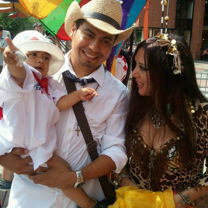 Earthmoves baby celebration Ishtar costume event