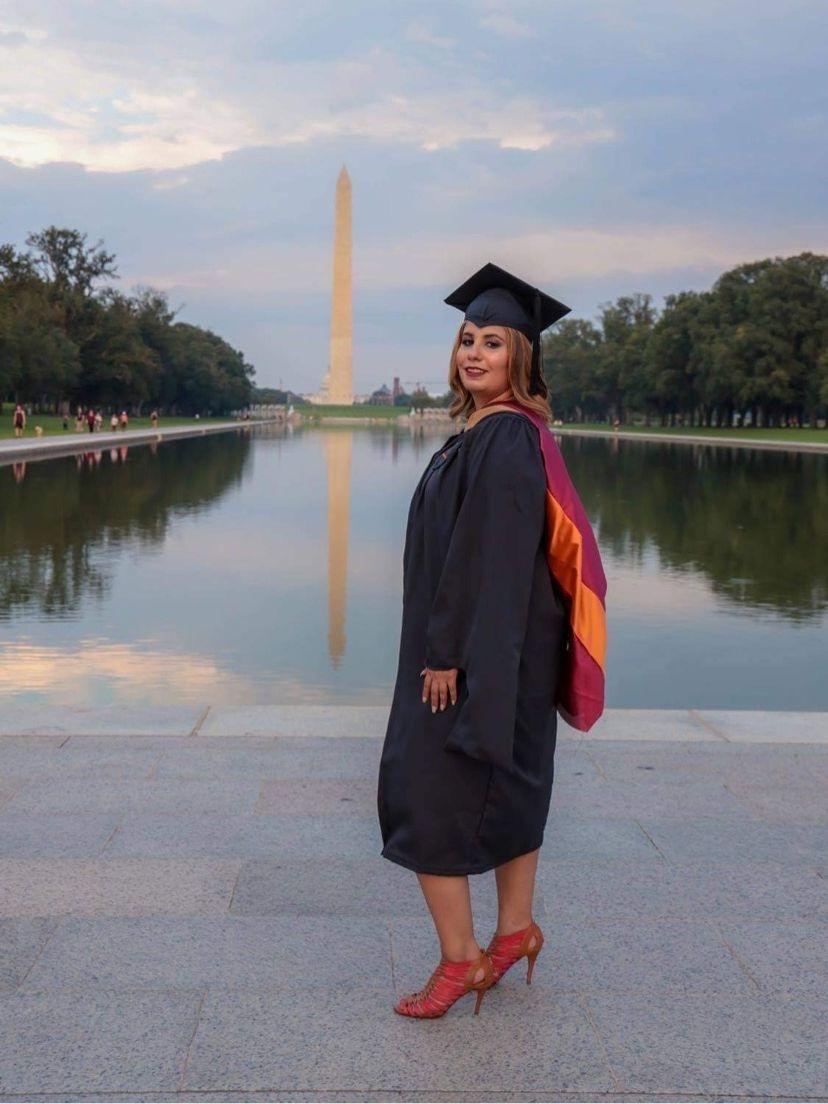 Graduation shoot, DC monument