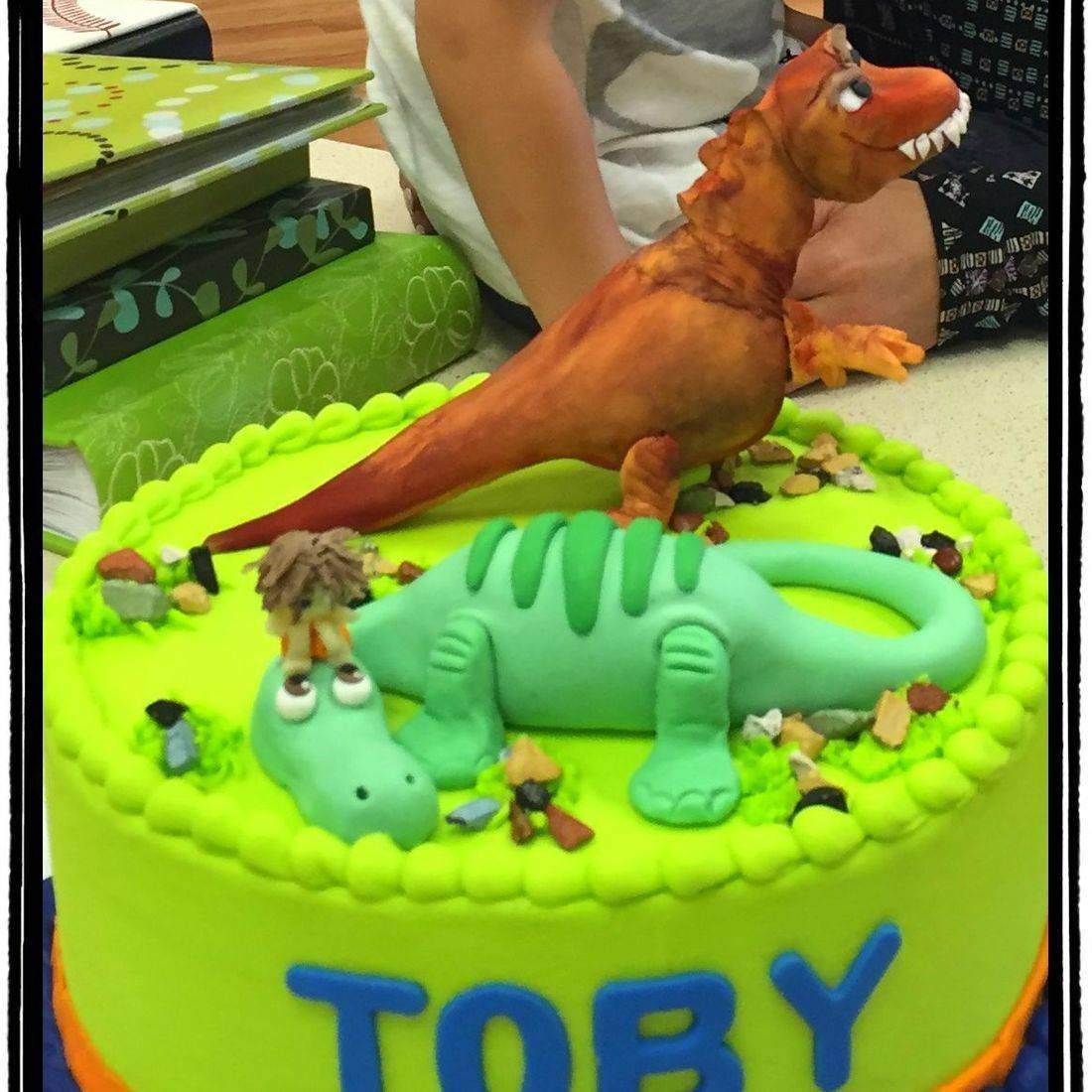 the good dinosaur birthday cake dino cake