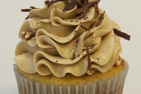 Tiramisu Mocha Chocolate Cupcake