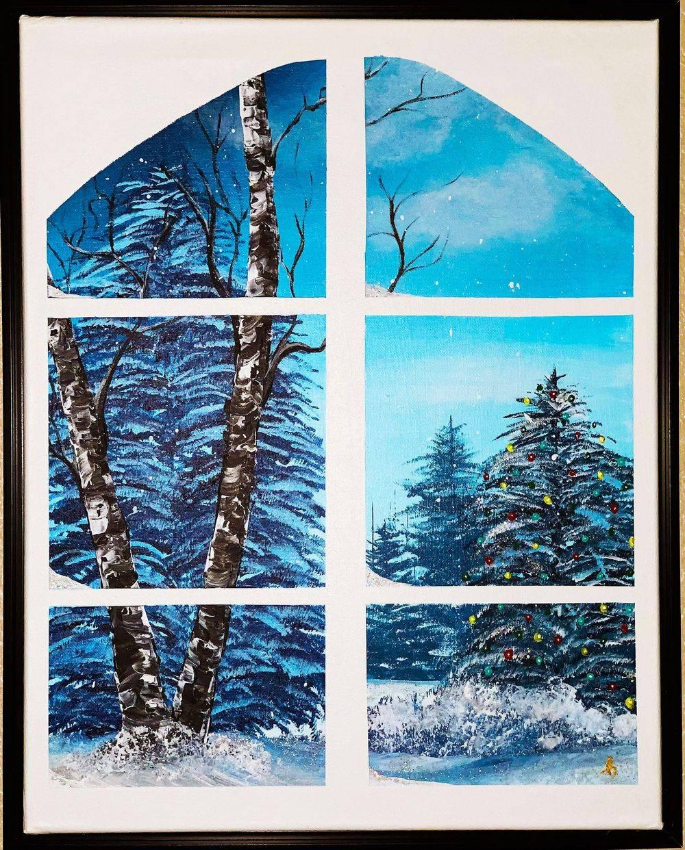 Wonderland, winter, Pacific Northwest, snow, Christmas, Hope Angel Fine Art