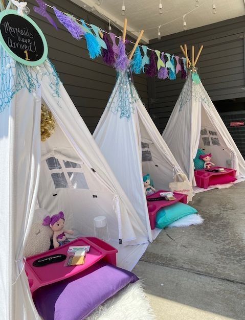 Kids party rentals, teepee rentals, teepees, teepee party, kids birthday party, kids sleepover party,  teepee sleepover, party planner, kids party planner, sleepover, Newport Beach, Orange County