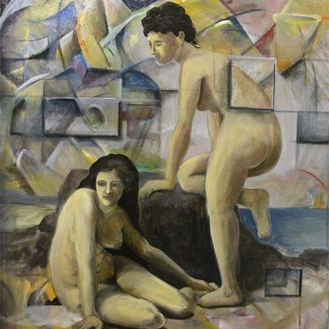 The Bathers (after Beaguereau)