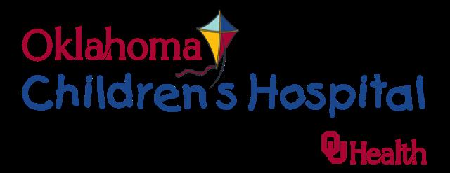 Logo with words Oklahoma Children's Hospital - OU Health