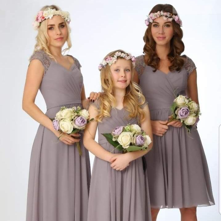 Bridesmaids in colour