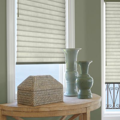 Set a preferred position for your Sonnette roller shade using SoftTouch Motorization.