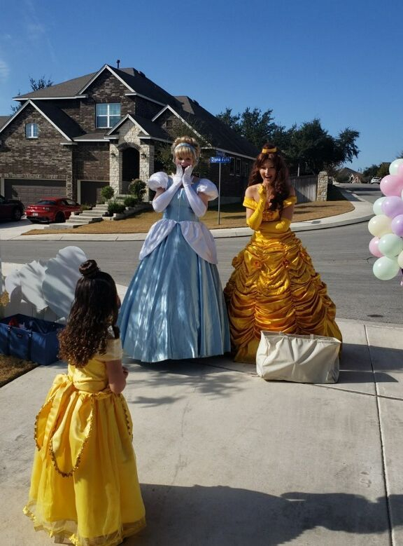 princess parties San Antonio