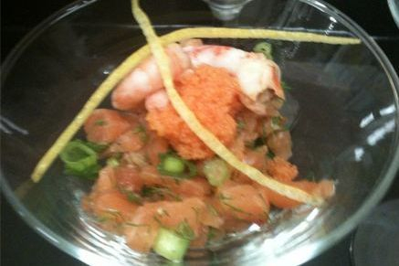Salmon Tartare Arista Caterers