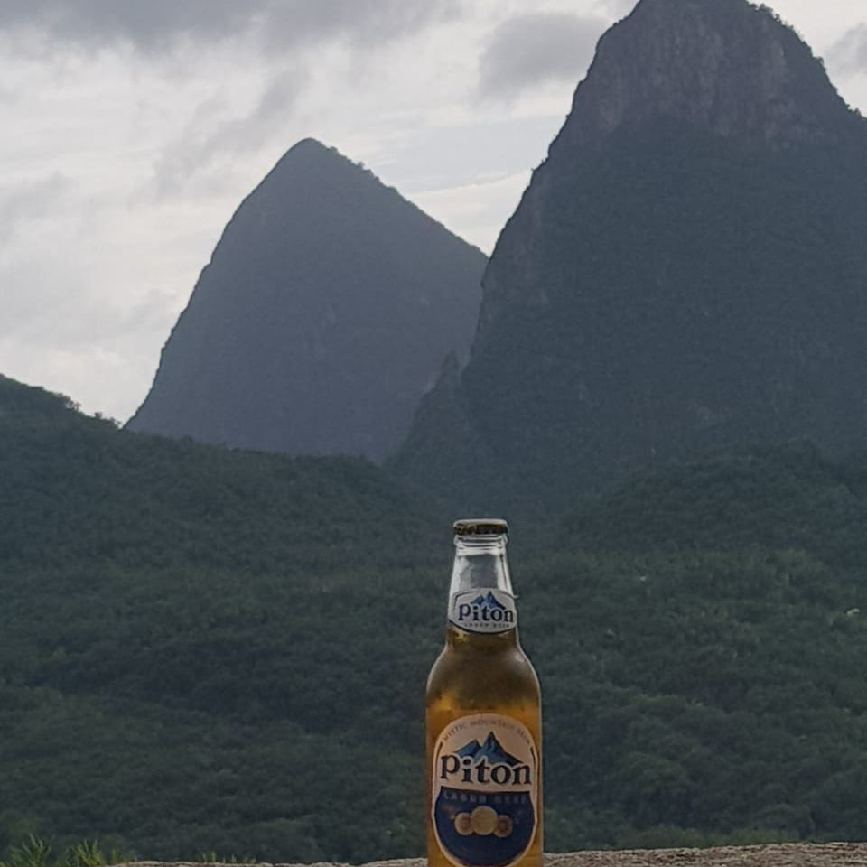 Enjoy the Pitons