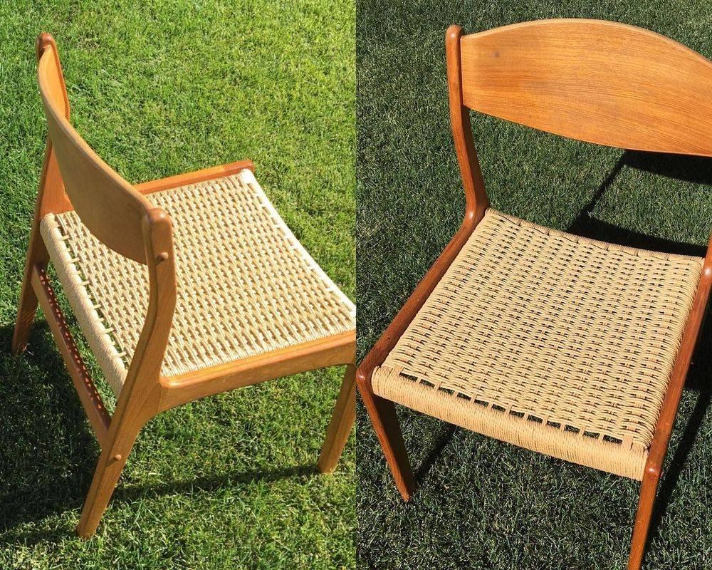 Skovmand & Anderson Danish Cord Chair