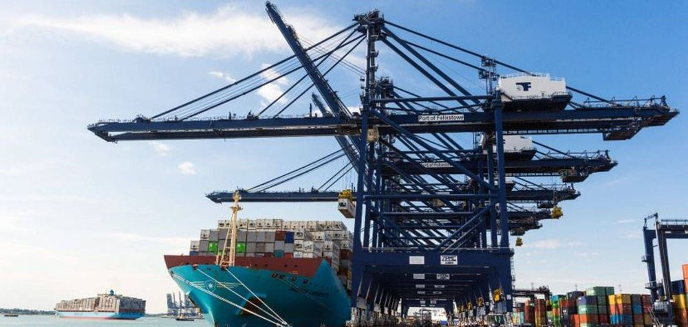 We provide container haulage from Felixstowe