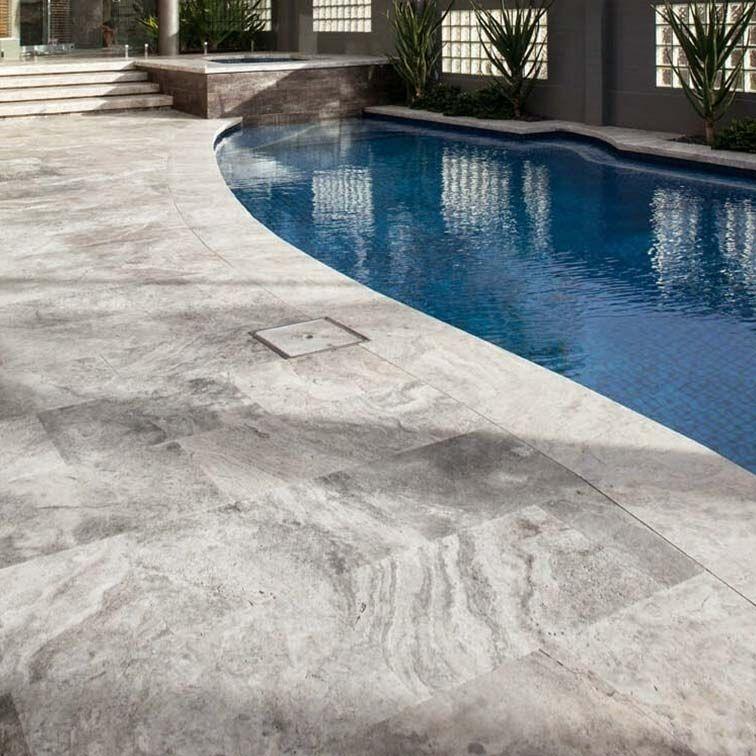 travertine pavers, travertine tiles, pool surrounds