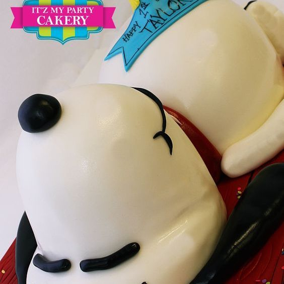 Snoopy & Woodstock Dimensional Cake Milwaukee