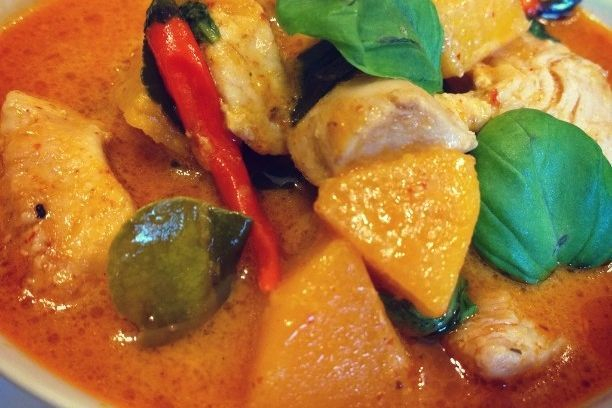 Red curry butternut