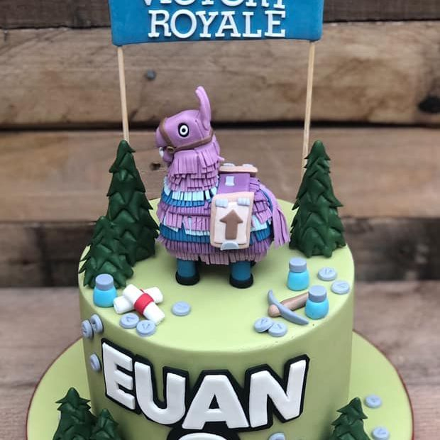 birthday cake fortnite battle royale victory pinata first aid