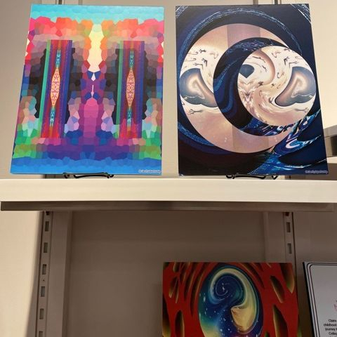 Abstract, Spiritual, Surrealist Artwork, digital art, All She Wrote Bookstore, ClarityIsJustSoHip!