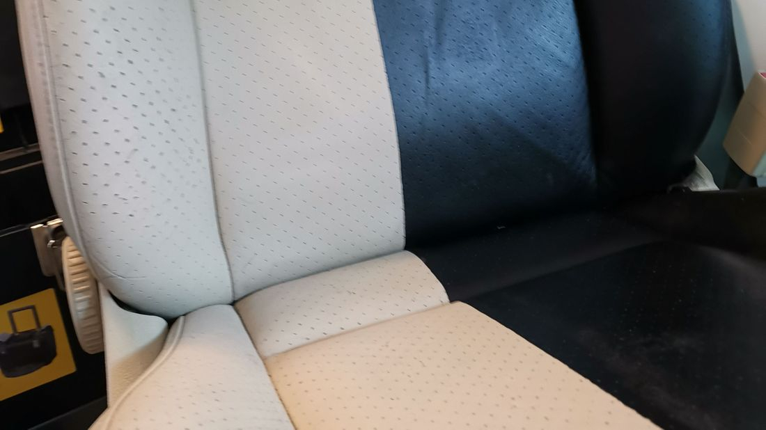 Leather seat repairs
