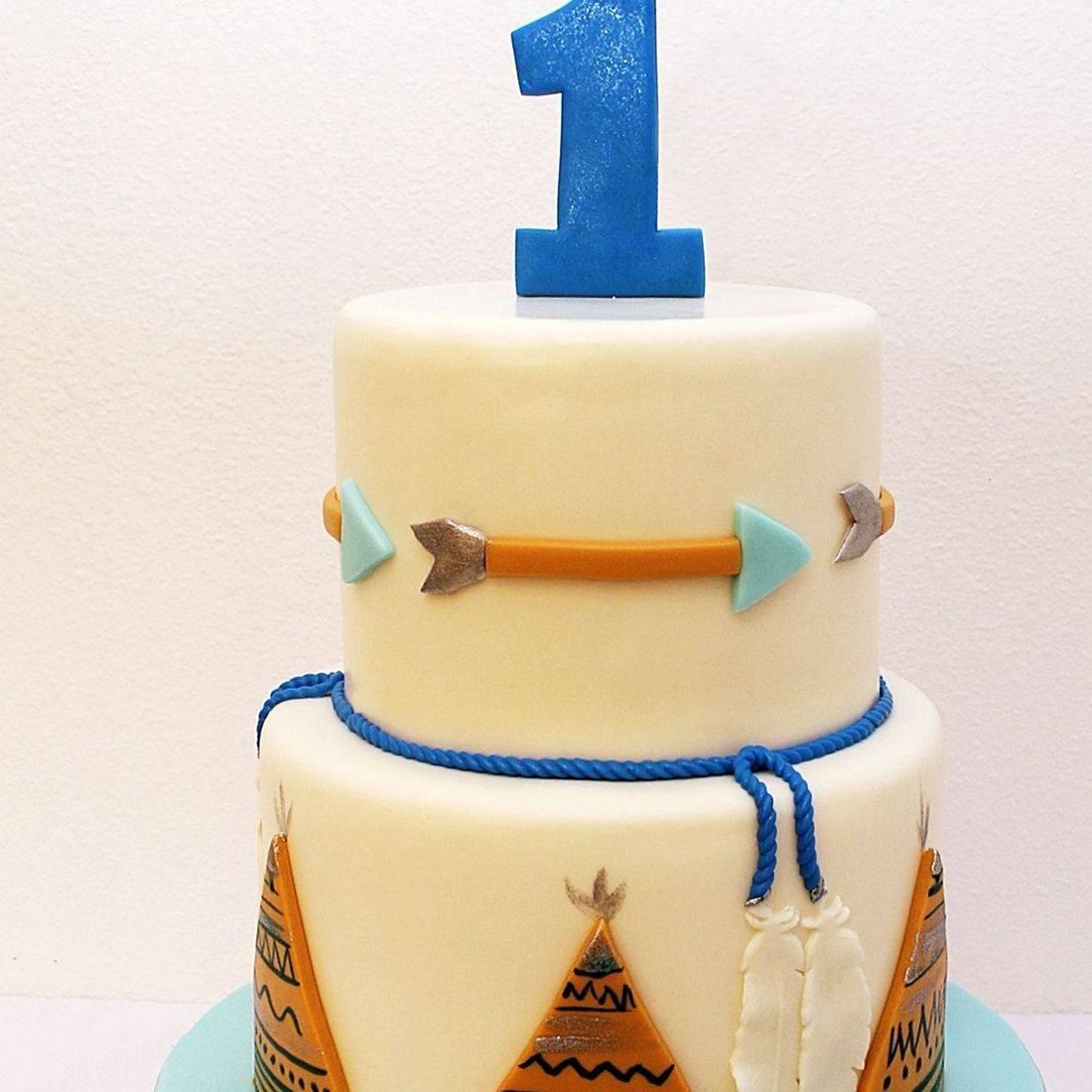 Arrow Teepee Cake Milwaukee