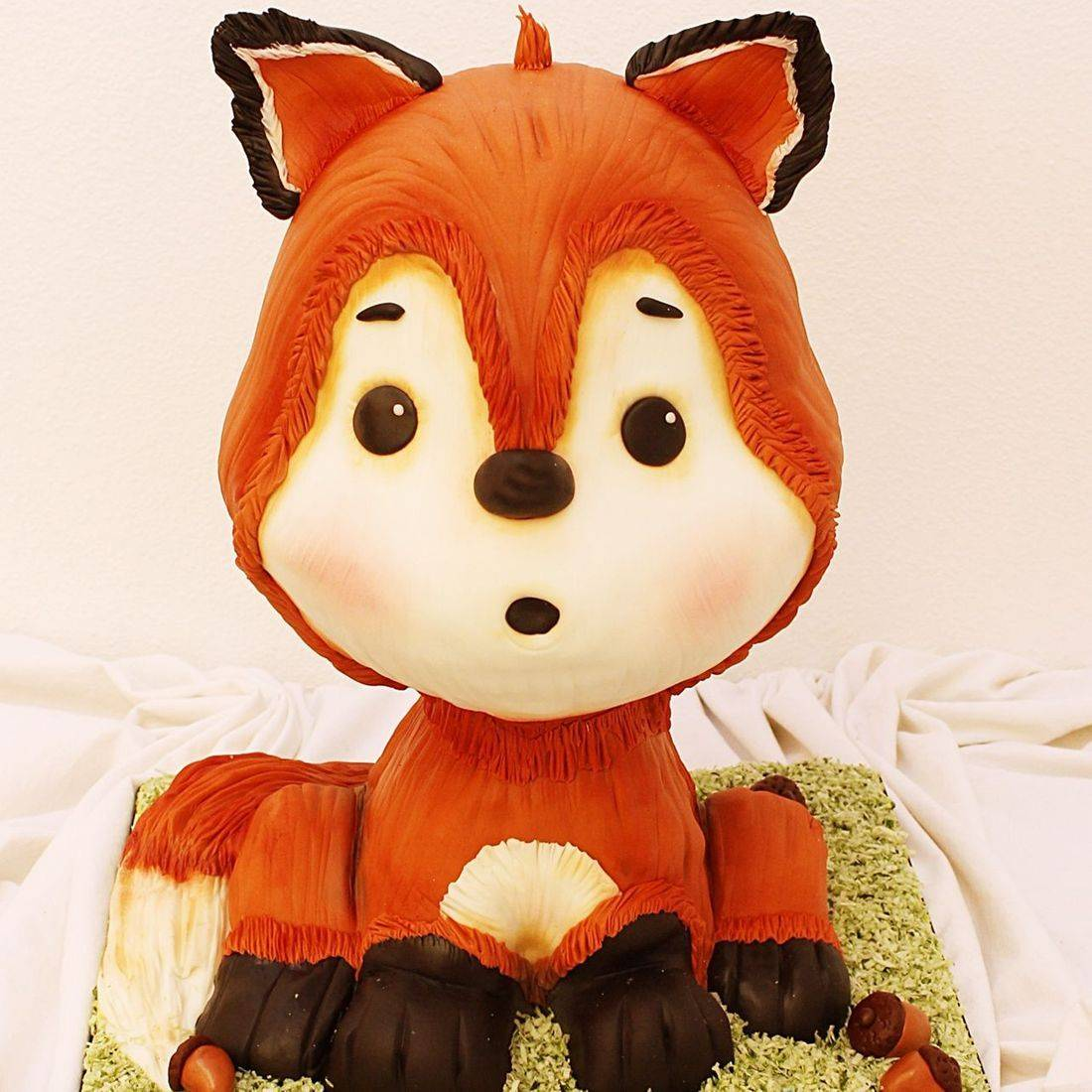 Red Fox Cake Dimensional Cake Milwaukee