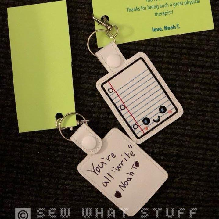 Custom Paper Key tag