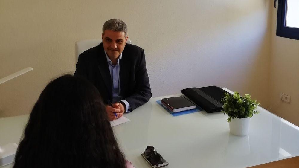 Despacho para la consulta de Psicología de Julio Flores