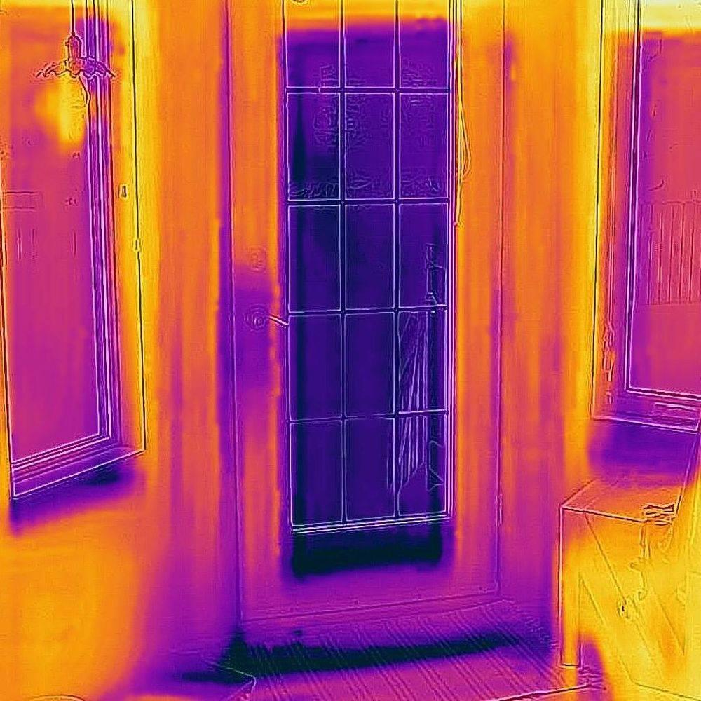 Door with Infrared