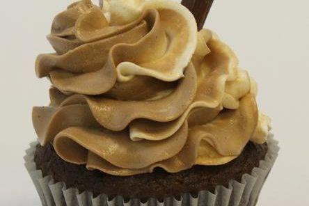 Rootbeer Float Chocolate Cupcake