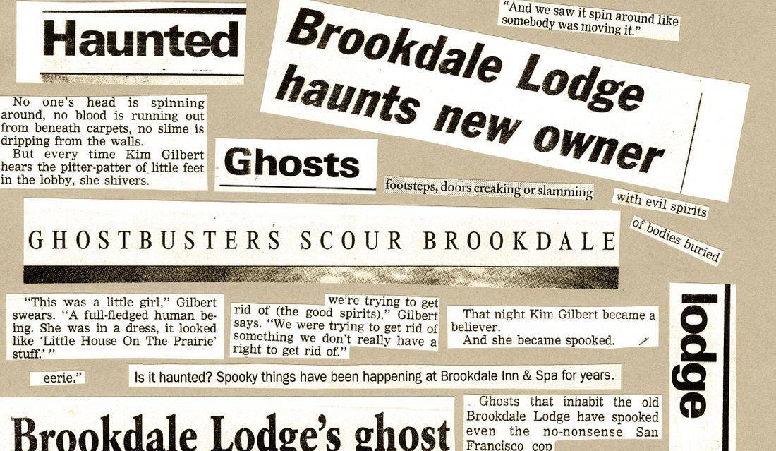 Brookdale Lodge history ghosts
