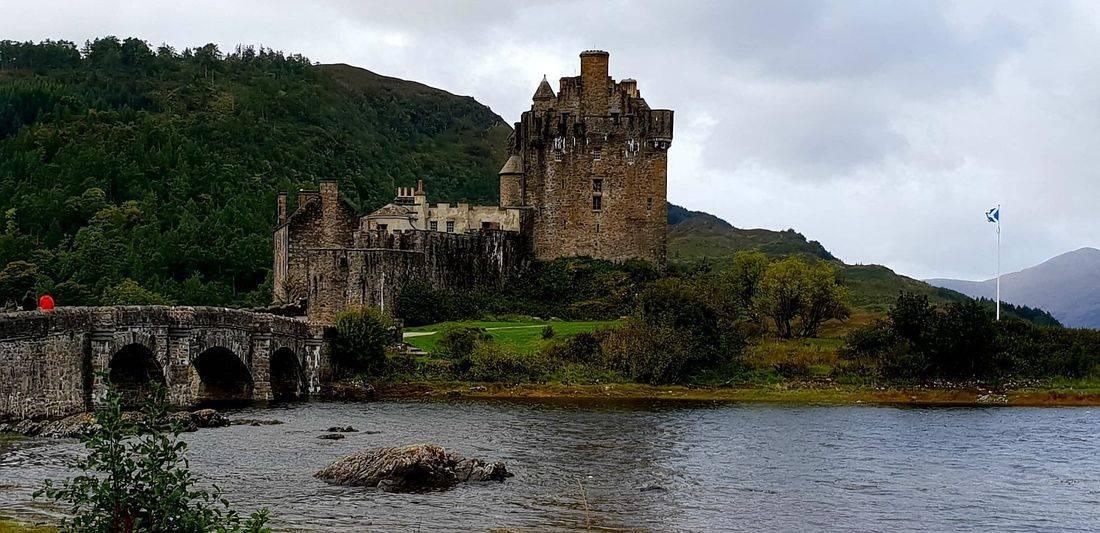 Eilean Donon Castle Kyle of Lochalsh