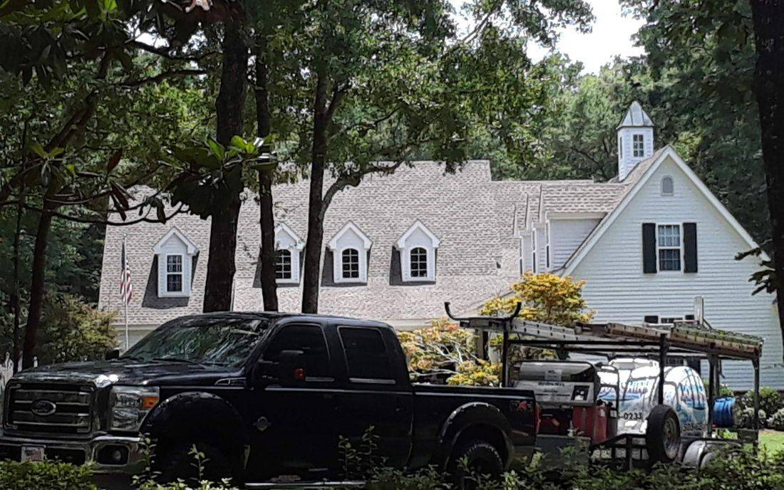 Pressure Washing and Soft washing roofs