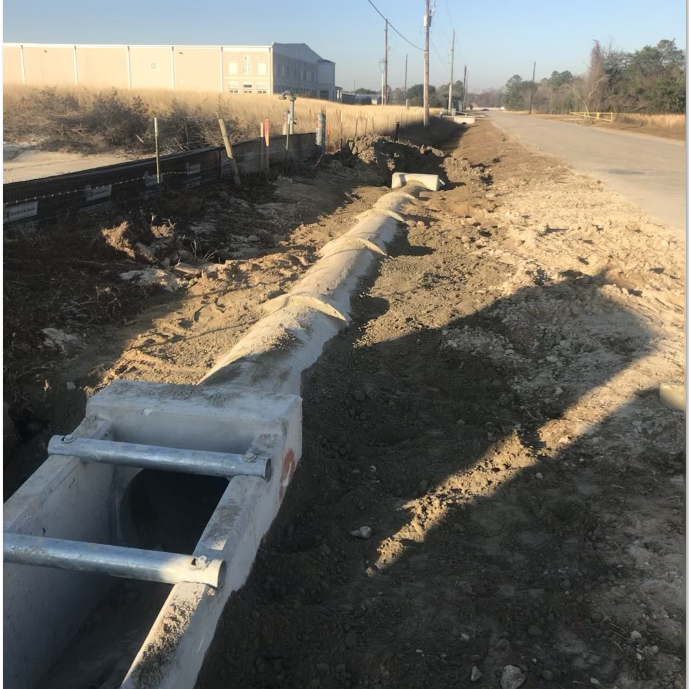 culverts, install culvert, install pipe, concrete pipe, concrete culvert, drainage, driveways