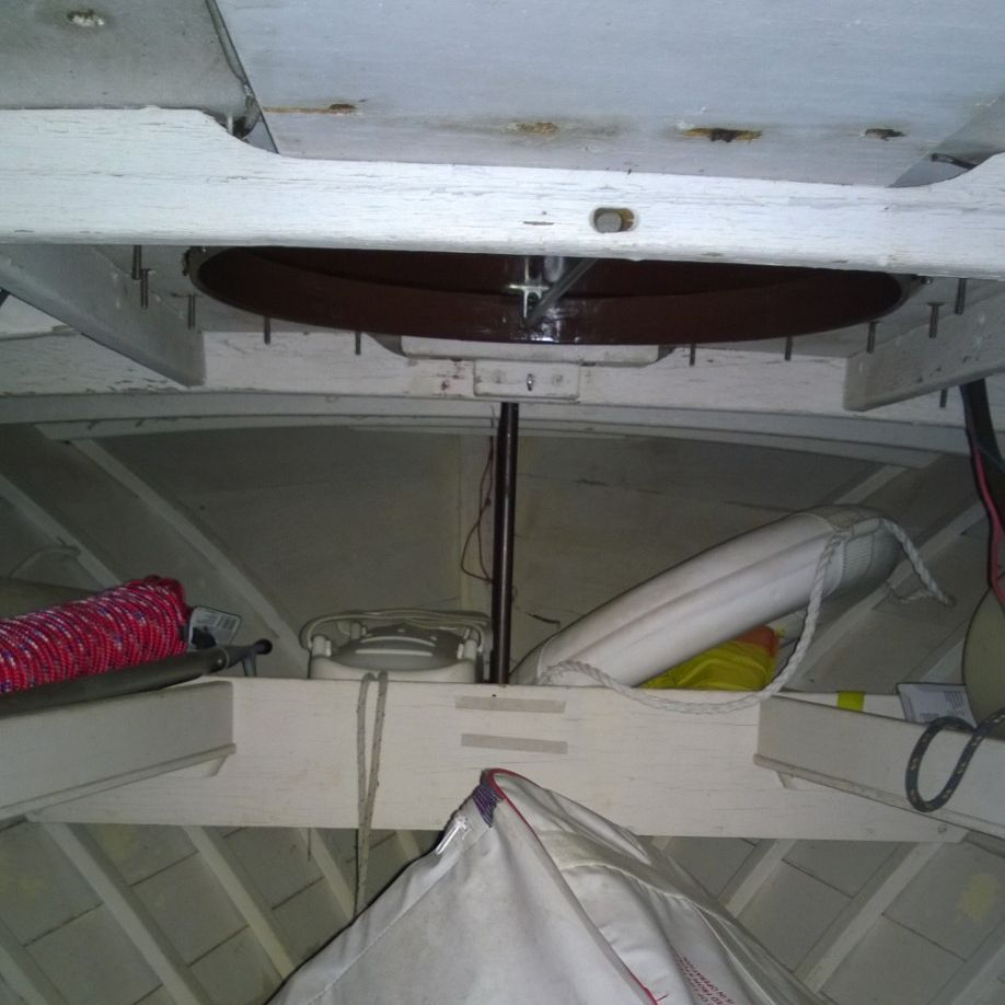 Lyman wood boat for sale at Bergersen